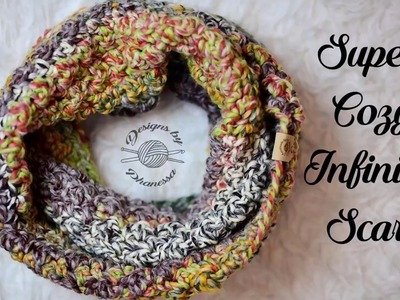 Super Cozy Infinity Scarf (Crochet) Tutorial