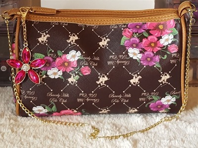 What's In My Purse December 2017 + DIY Chain Link Purse Strap Tutorial