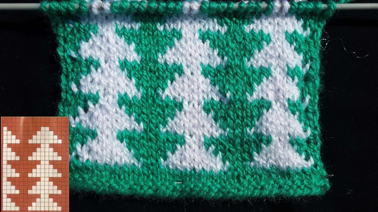 Beautiful Double Colour Knitting Pattern for Baby Sweater [With ...