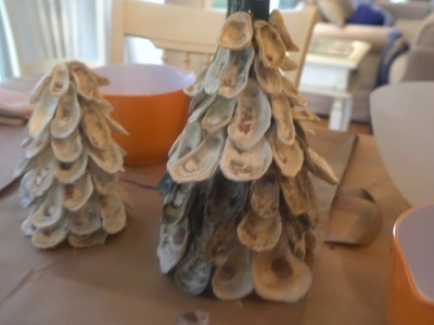 Dish with Denae: how to make an oyster shell tree for your holiday table