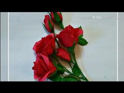 Handmade Red Roses for Valentine's day