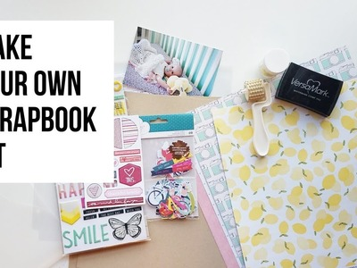 How to Build a Micro Kit for Scrapbooking | PROCESS VIDEO