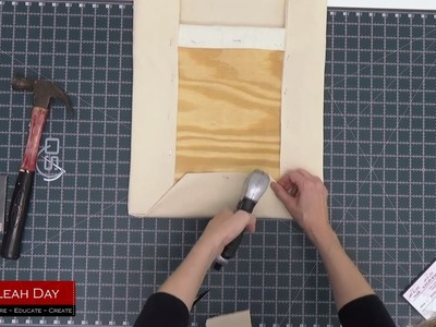 How to Build a Pressing Board for Quilting and Sewing with Leah Day