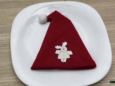 How to Fold These 5 Easy and Decorative Christmas Napkins