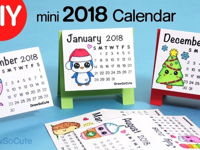How to Make a 2018 Calendar | Easy DIY Fun Craft