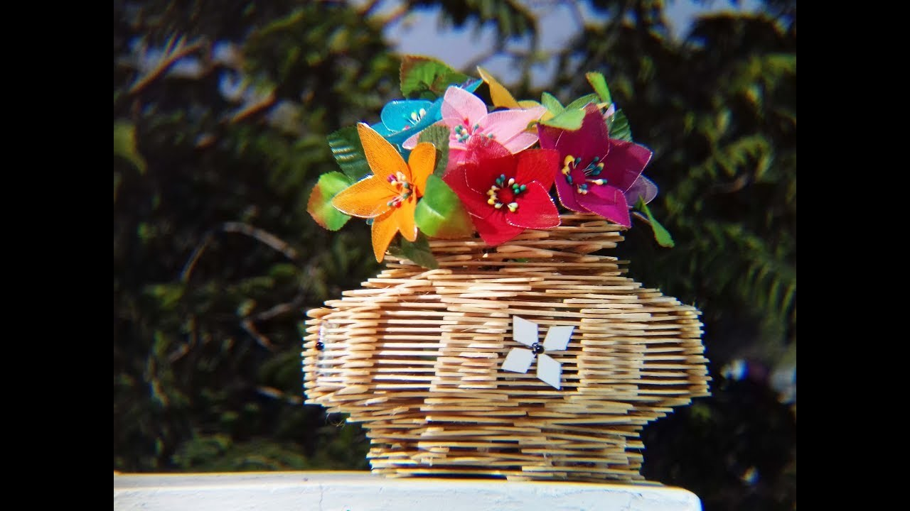 How To Make A Beautiful Flower Basket Flowers Healthy