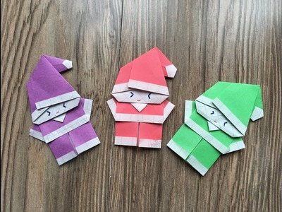 Easy Christmas Special For Kids How To Make A Santa Paper Craft