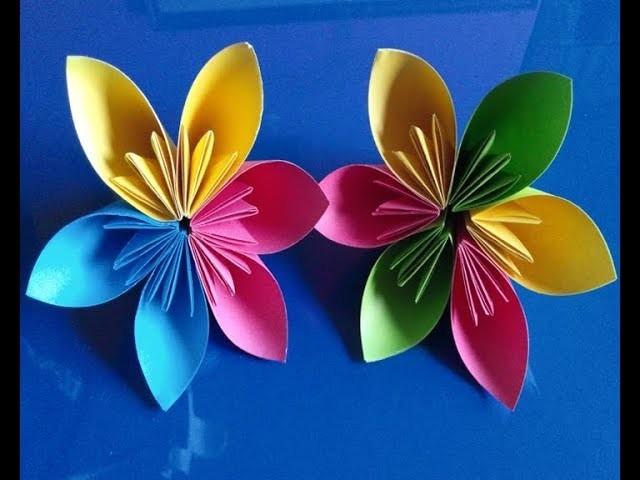 How to make an easy kusudama paper flower easy origami kusudama how to make an easy kusudama paper flower easy origami kusudama making diy paperorigami flower mightylinksfo