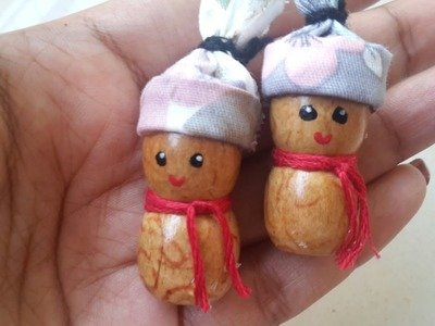 How to make beads doll