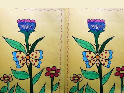 How to make birthday greeting card flower designs.very easy paper craft ideas ,greeting card ideas