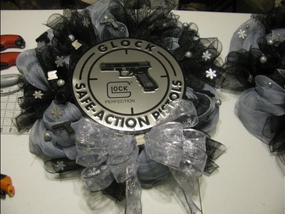 How To Make Carmen's Glock Perfection Holiday Wreath