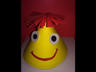 How to make funny Kids Party Hat by tchh
