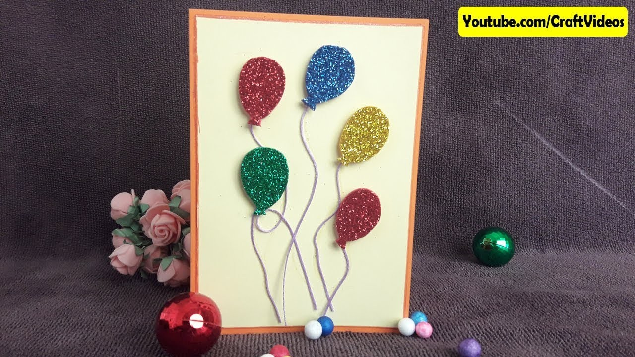 How To Make Handmade Greeting Cards Easy Ideas Simple For Kids