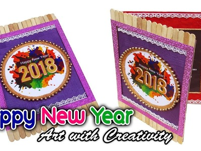 HOW TO MAKE : Happy new year card | Super easy | Art with Creativity 312