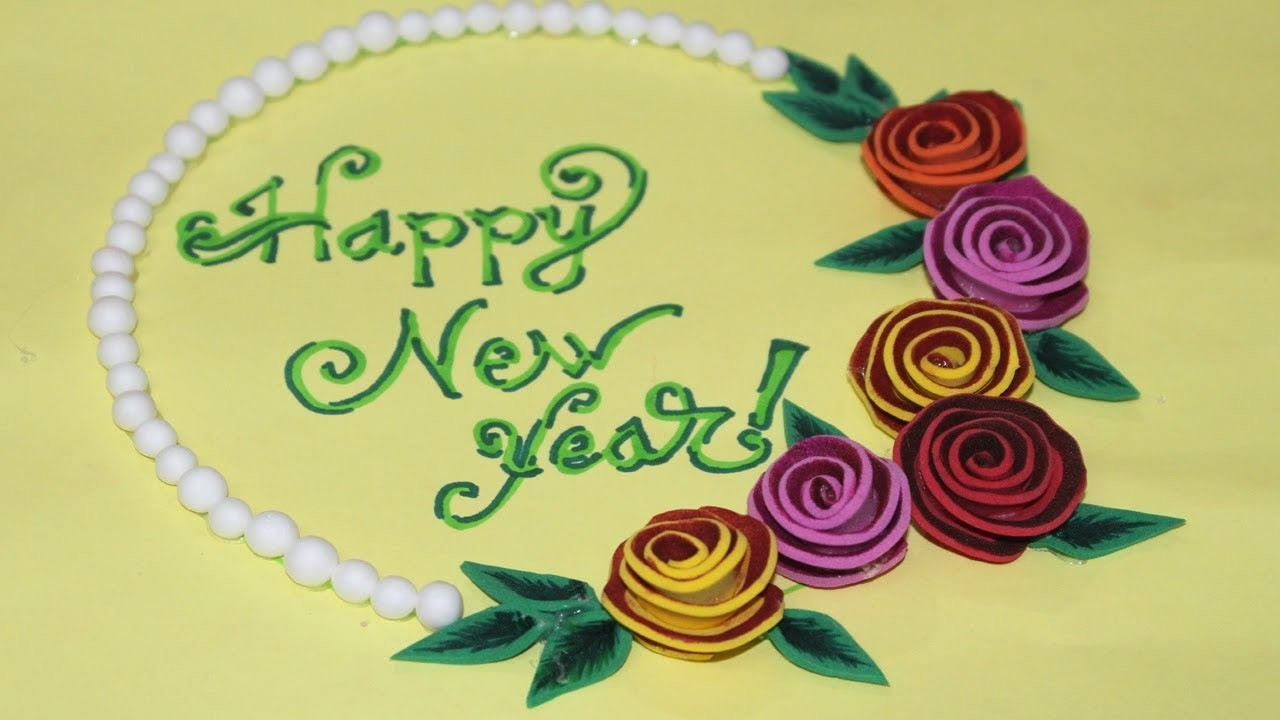 how to make happy new year greeting card handmade greeting cards for special occasions