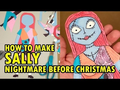 How To Make Sally (Nightmare Before Christmas) - Disney Crafts