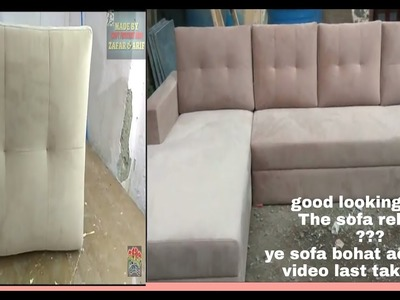 How to make sofa set cussion corner set stylist new design india