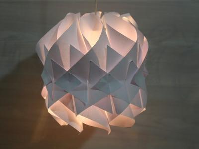 Make Amazing paper lamp - Home Decor Ideas