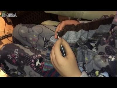 Myo Prothese Stricken, robot prosthesis knitting, 脑控假肢编制,possibly? 可能吗?3