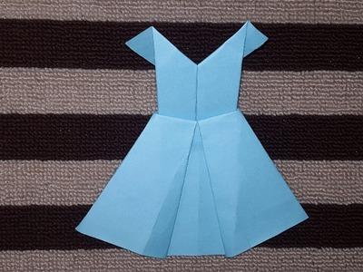 কাগজ দিয়ে মেয়েদের পোশাক বানানো শিখুন ! How to Make a Beautiful Paper Woman Dress ! crafts bd