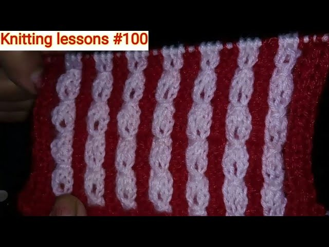 Two Colours || Knitting Cable Design || Gents sweater design ...