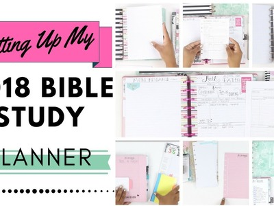 2018 Bible Study Planner Setup DIY + Walkthrough | At Home With Quita
