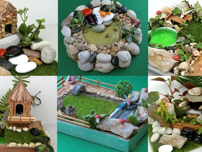 8 Easy DIY Fairy Gardens You can Make At Home  | Simple and Quick Crafts ideas