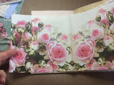 9.10 BANK HOLIDAY CRAFT ALONG TUTORIAL - Decorating The Front Cover