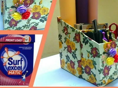 Beautiful Organizer from Surf Excel Box || DIY || Recycling Old Boxes || Best out of Waste