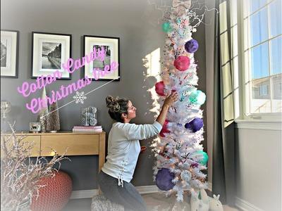 Christmas Tree-  DIY Cotton Candy Tree
