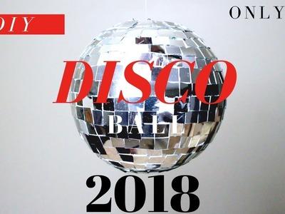 DISCO BALL DIY | HOW TO MAKE A DISCO BALL