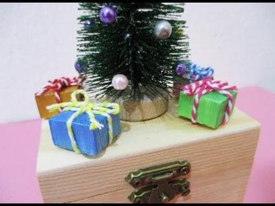 DIY : #205 Cute Christmas Tree Gift Box ❤