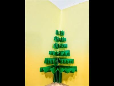DIY 3D Christmas Pop Up Card ¦ Very Easy