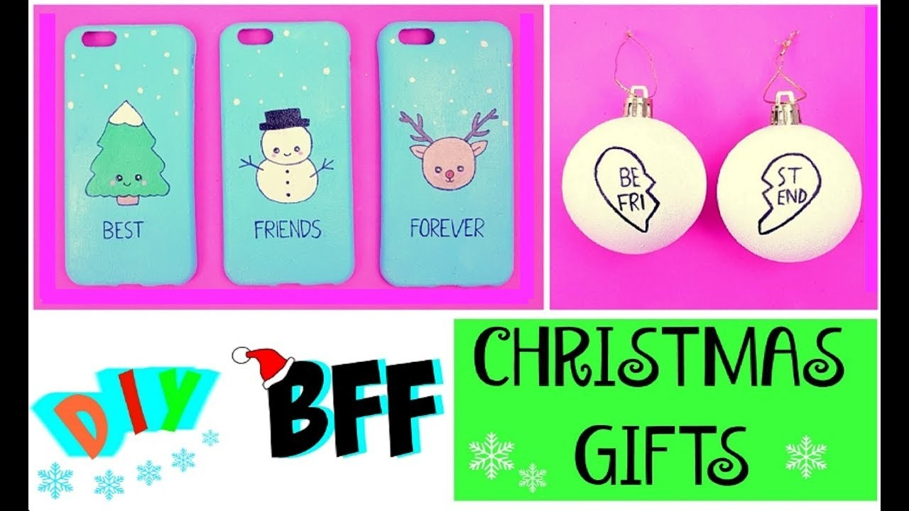 DIY BFF CHRISTMAS GIFTS - Quick & Easy DIY Ideas!