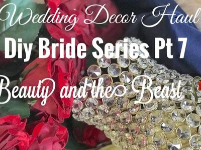 ????????????????DIY Bride Series(Pt 7) Wedding Haul. Glam Wedding Decor ????????????????
