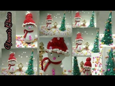 DIY Christmas  Decorations.Easy Holiday Room Decor Idea.New Year DIY Ideas