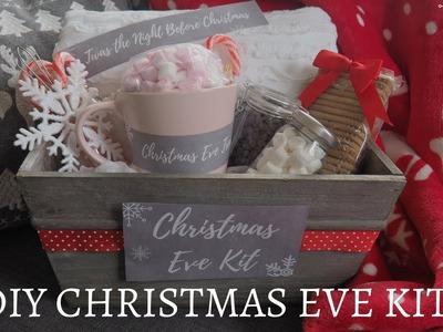 DIY Christmas Eve Kit   FREE Printable Labels