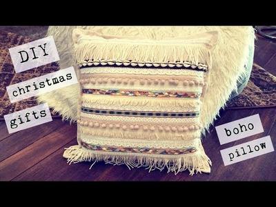 DIY Christmas Gifts! Easy Boho Cushion!