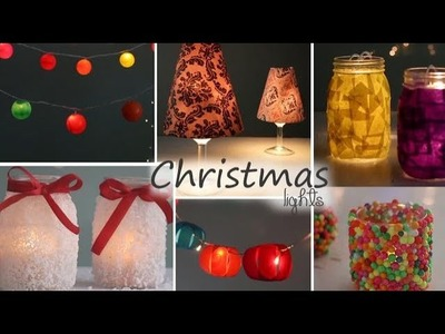 DIY Christmas Light Decors