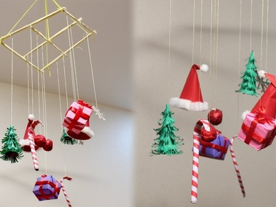 DIY Christmas Ornaments Mobile Decorations - DIY Crafts