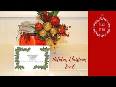 DIY Christmas Potpourri Christmas Scent