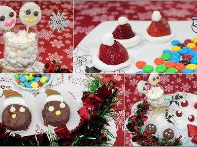 DIY Christmas Treats | Easy Oreo Treats For Kids  | Simple Way Of Cooking
