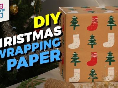 DIY Christmas Wrapping Paper | MadStuffWithRob