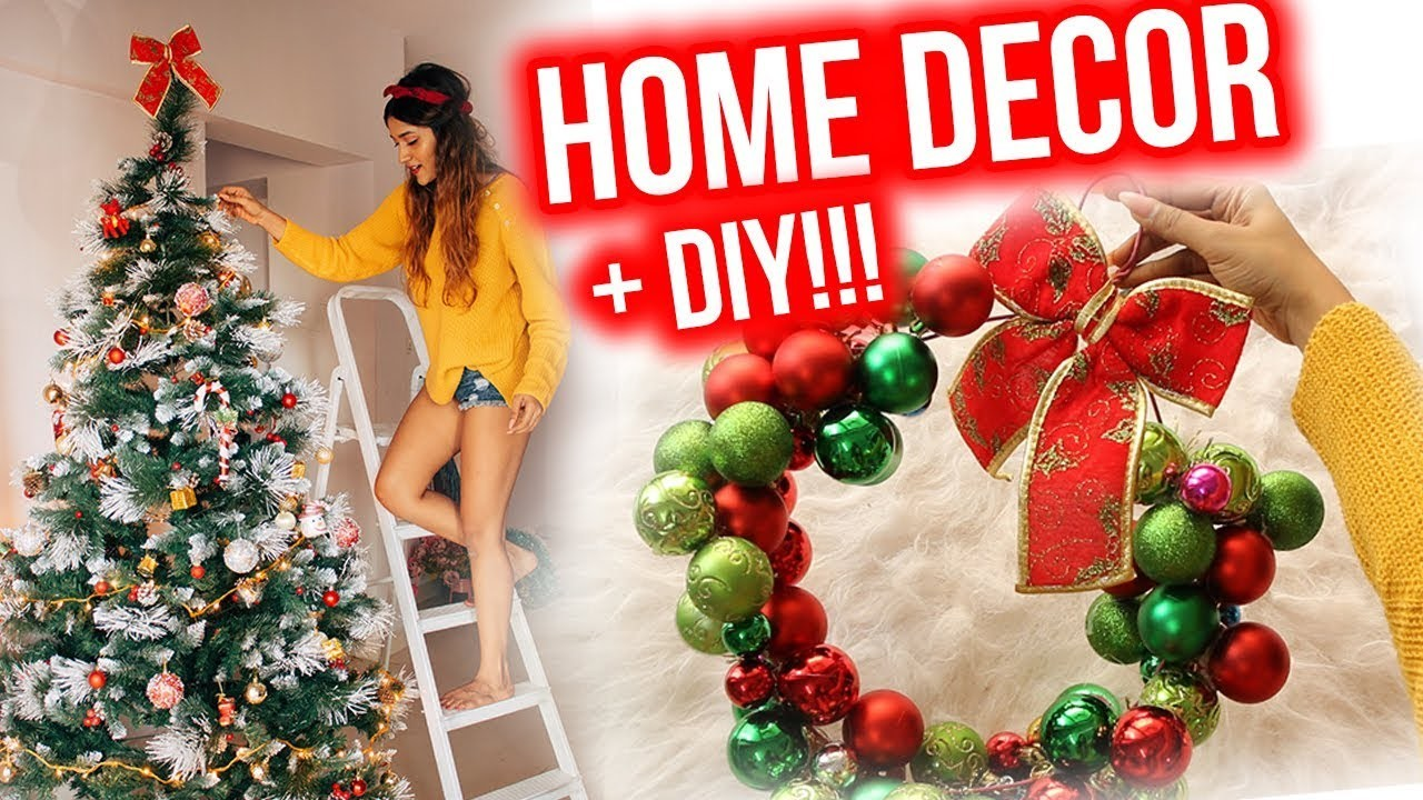 DIY + DECORATING MY APARTMENT FOR CHRISTMAS