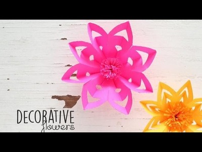 DIY Decorative Flowers
