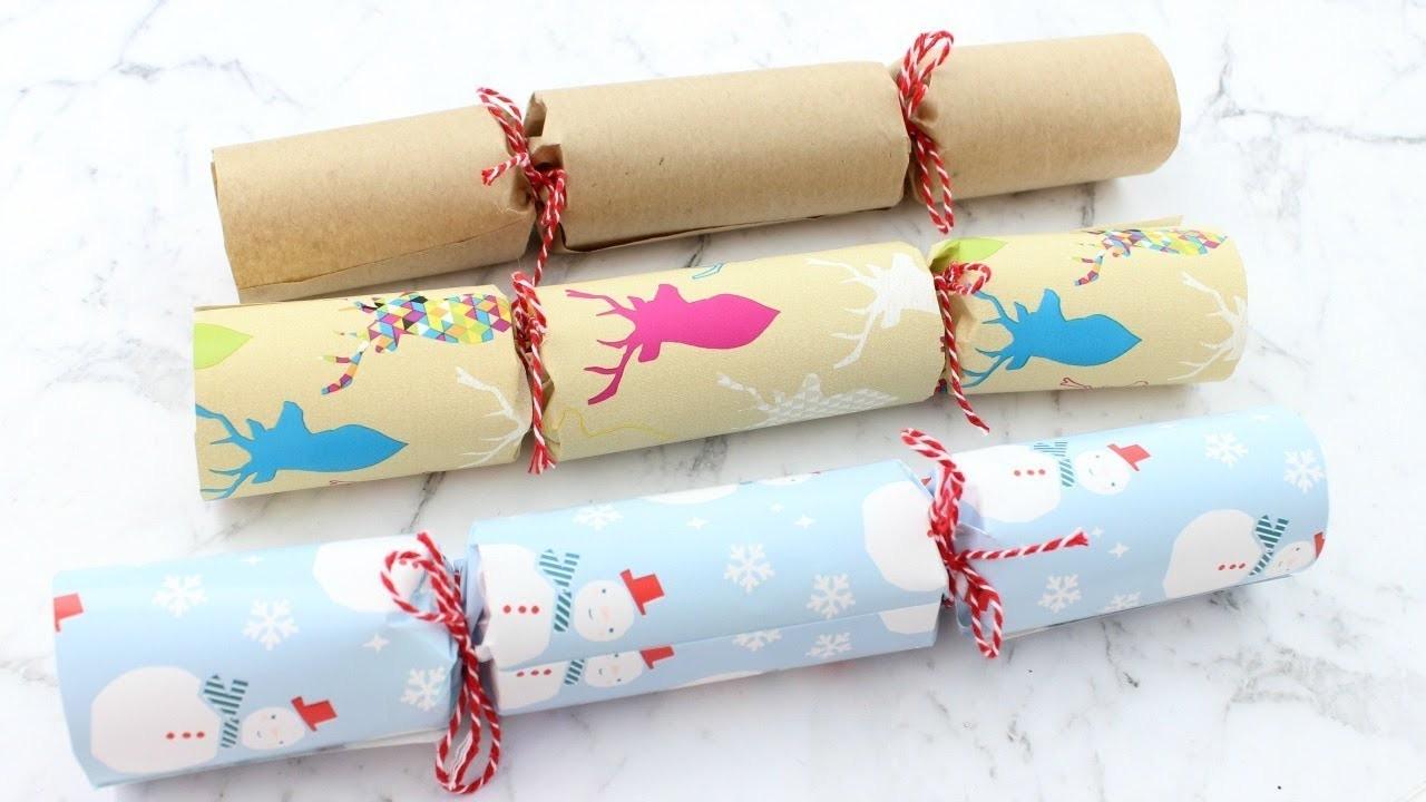 DIY EASY CHRISTMAS CRACKERS | 25 DIYs Of Christmas DAY 20