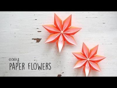 DIY Easy Paper Flowers