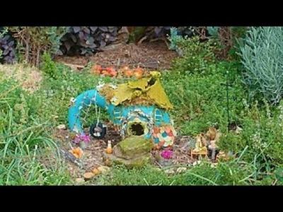 DIY Gourd Fairy Cottage - Way to Grow - HGTV