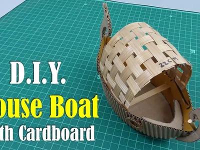 DIY: Houseboat with Cardboard