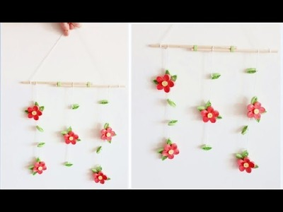 DIY Paper Quilling Wall decoration 7. quilling wall mobile. Quilling Flower
